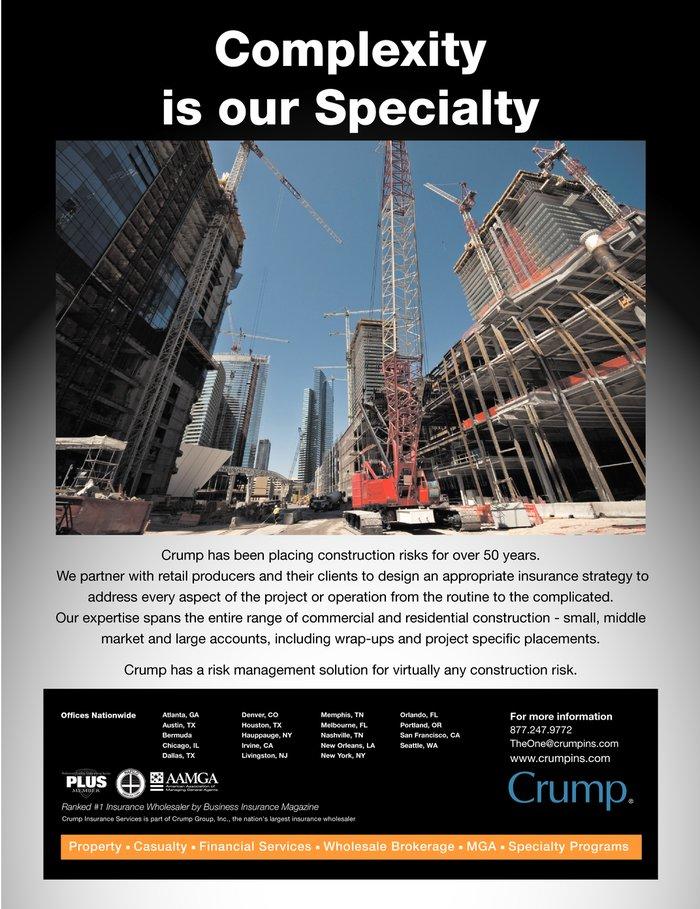 Contractors & Builders; Long-Term Healthcare Liability ...