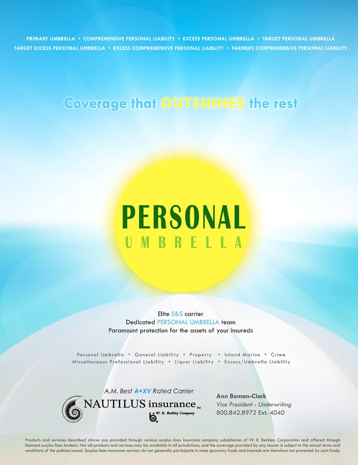 Insurance Journal Midwest 2014 06 16 on Casualty Insurance Umbrellas