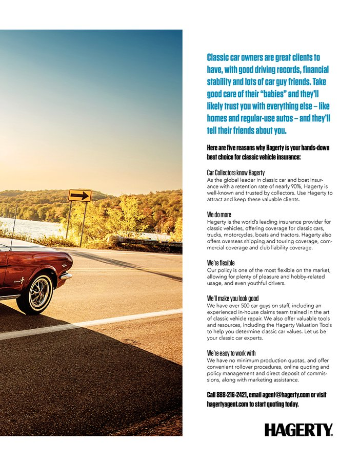 Get a collector car insurance quote from hagerty