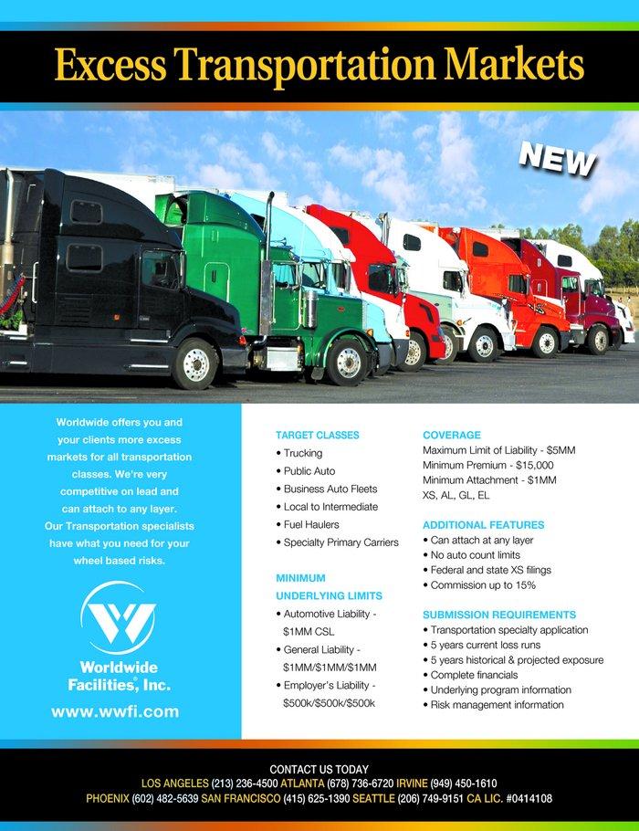 Worldwide Facilities Llc Ad In Insurance Journal